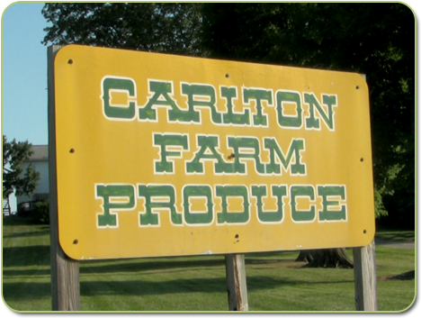Carlton Farm Sign